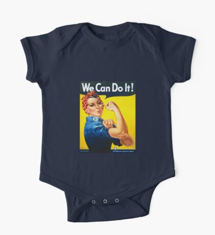 We Can Do It - Rosie the Riveter One Piece - Short Sleeve