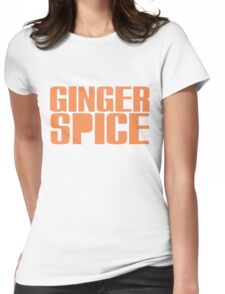 Ginger Spice Womens Fitted T-Shirt