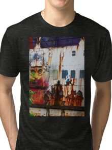 A Flame of Rust Tri-blend T-Shirt
