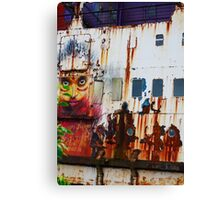 A Flame of Rust Canvas Print
