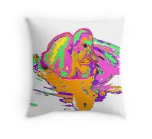"Psyche""duck""ic Throw Pillow"