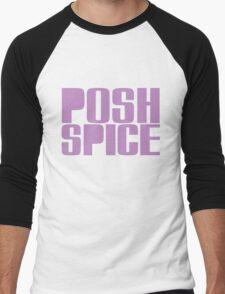 Posh Spice Men's Baseball ¾ T-Shirt