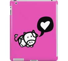 Cow in Love iPad Case/Skin