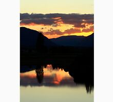 July 4th Sunset in Montana Unisex T-Shirt