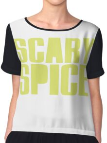 Scary Spice Chiffon Top