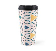 Footsteps in Zen Blue Travel Mug