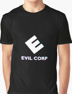 Evil Corp Graphic T-Shirt