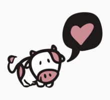 Cow in love Kids Clothes