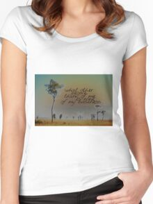 I LIKE TO THINK THAT © Vicki Ferrari Women's Fitted Scoop T-Shirt