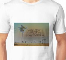 I LIKE TO THINK THAT © Vicki Ferrari Unisex T-Shirt
