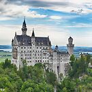 Neuschwanstein Castle Bavaria by Imagery