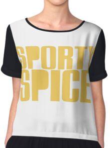 Sporty Spice Chiffon Top