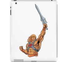 master of the universe sword iPad Case/Skin