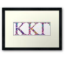 keep it klassy kappa kappa gamma Framed Print