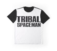 Spice Up Your Life - Tribal Spaceman Graphic T-Shirt