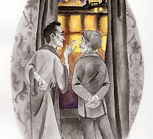 "Life is Infinitely Stranger"" - Holmes and Watson - 221B by livielightyear"