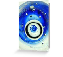 Glass Bubble Original © Vicki Ferrari Greeting Card