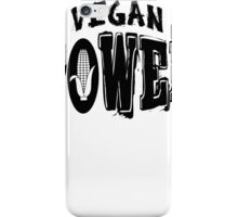 Vegan Power iPhone Case/Skin