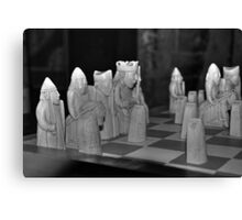 Lewis Chessmen Canvas Print