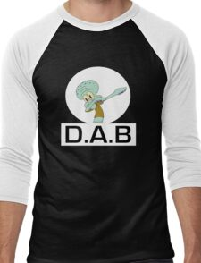 -DAB- Squidward Men's Baseball ¾ T-Shirt