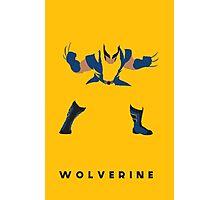 Wolverine Flat Design Photographic Print