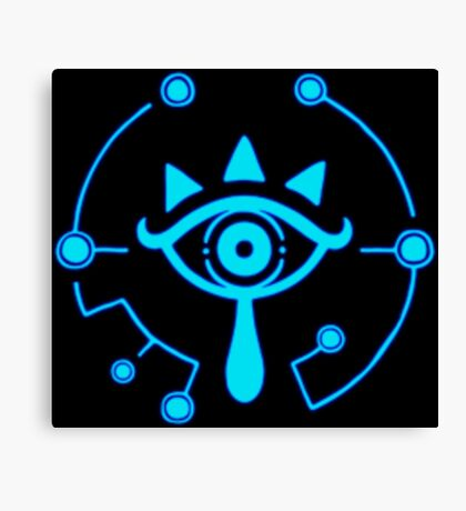 Sheikah Slate - Legend of Zelda - Breath of the Wild Canvas Print