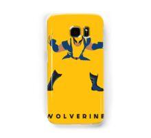 Wolverine Flat Design Samsung Galaxy Case/Skin
