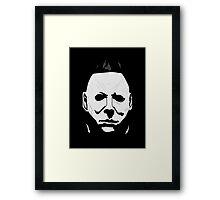 Horror Michael Mask Framed Print