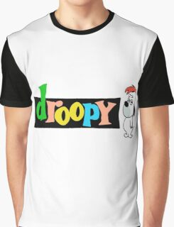 Droopy Graphic T-Shirt