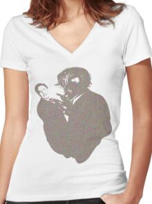 The Fly Women's Fitted V-Neck T-Shirt