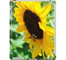Buzzing for Sunflowers iPad Case/Skin