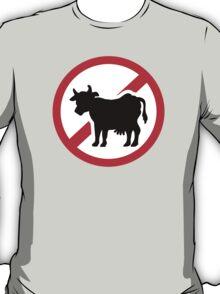 No cow - no meat T-Shirt