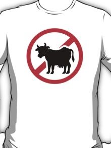 No cow - no meat T-Shirt