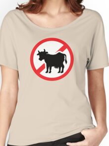 No cow - no meat Women's Relaxed Fit T-Shirt