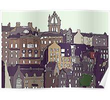 Edinburgh View Poster