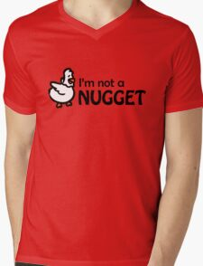 I'm not a nugget Mens V-Neck T-Shirt