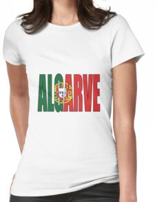 Algarve. Womens Fitted T-Shirt