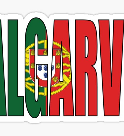 Algarve. Sticker