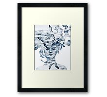 I am the sea and nobody owns me Framed Print