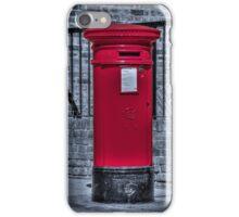 British Red Postbox iPhone Case/Skin