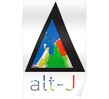 Alt-j This Is All Yours Triangle (with name) Poster