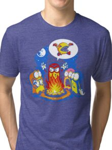 8-Bit Horror Tri-blend T-Shirt