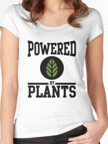 Powered by Plants Women's Fitted Scoop T-Shirt