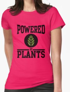 Powered by Plants Womens Fitted T-Shirt