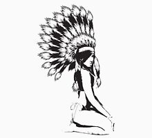 Cheif Native Hottie Womens Fitted T-Shirt