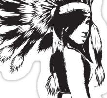 Cheif Native Hottie Sticker