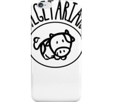 Vegetarian iPhone Case/Skin