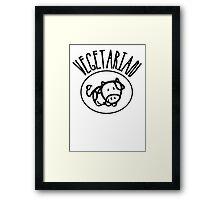 Vegetarian Framed Print