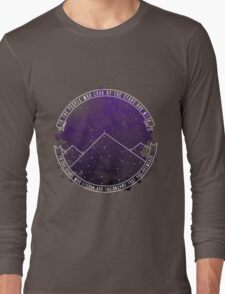 Look At The Stars And Wish | Night Court Long Sleeve T-Shirt