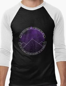 Look At The Stars And Wish | Night Court Men's Baseball ¾ T-Shirt